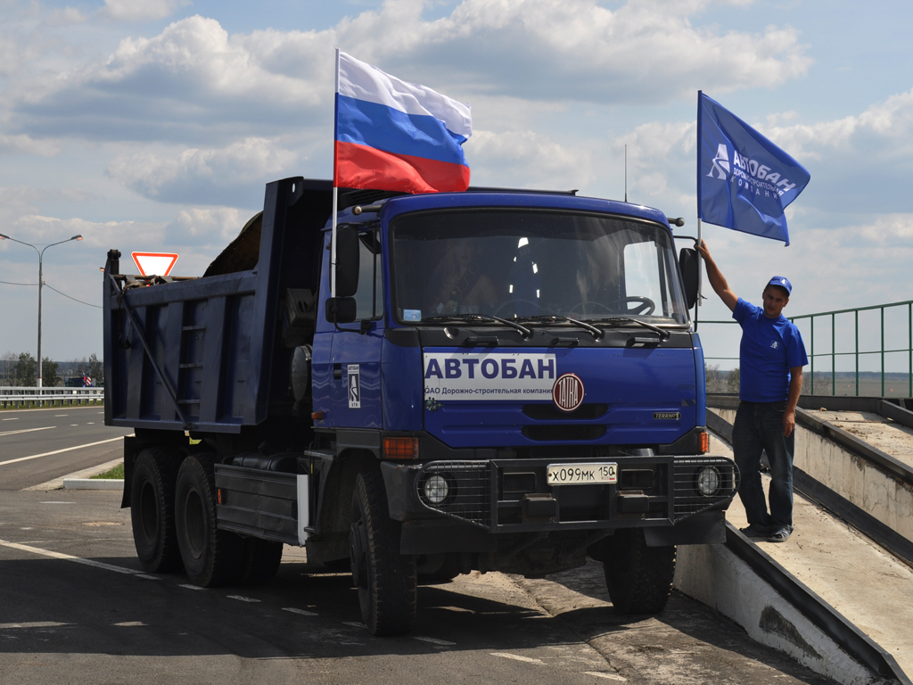 Геотекстиль геоманит трасса М4, Елец 2011г.